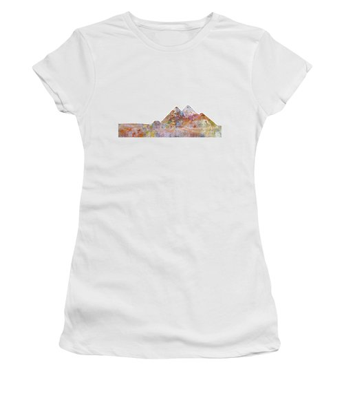 The Great Pyramids Colorsplash Women's T-Shirt