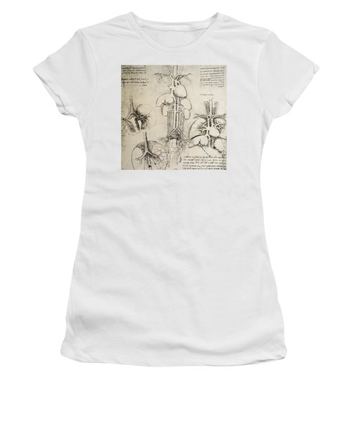 The Heart And The Circulation Women's T-Shirt