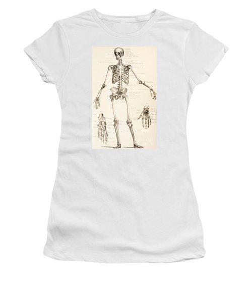 The Human Skeleton Women's T-Shirt