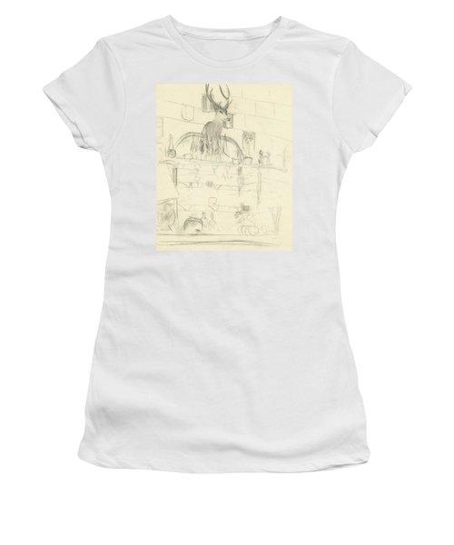 The Interior Of A Bar Women's T-Shirt