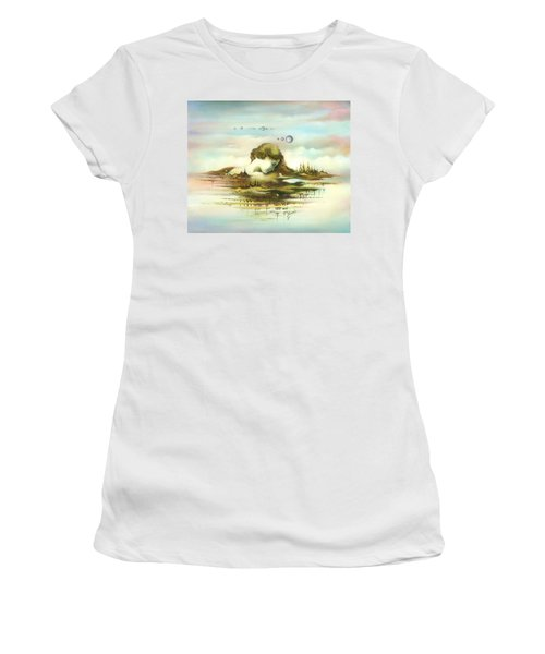 The Island Women's T-Shirt (Athletic Fit)