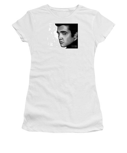 The King Women's T-Shirt (Junior Cut) by Sheryl Unwin