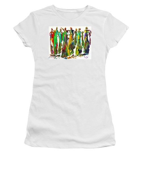 The Ladies Women's T-Shirt (Junior Cut) by Bernadette Krupa
