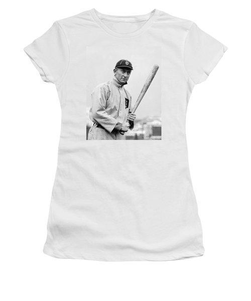 The Legendary Ty Cobb Women's T-Shirt (Athletic Fit)