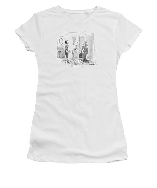 The Market Was Volatile Women's T-Shirt
