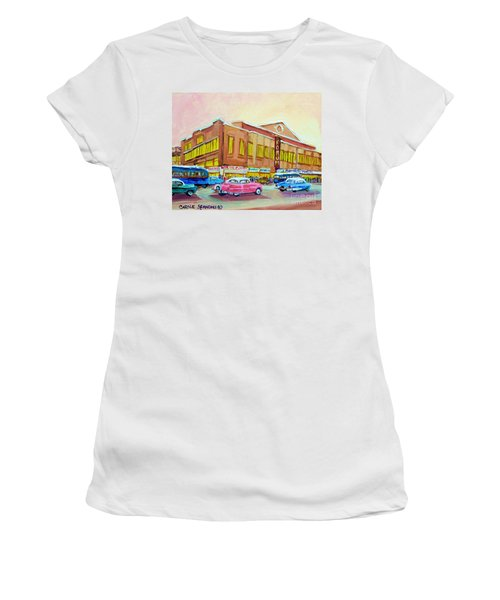 The Montreal Forum Women's T-Shirt (Athletic Fit)