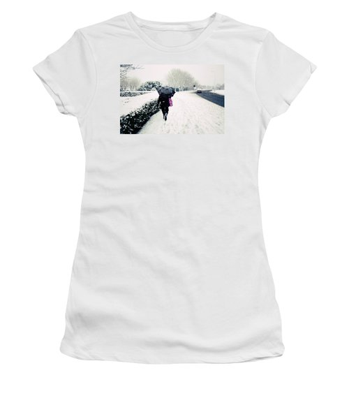 The Morning Commute Women's T-Shirt (Athletic Fit)