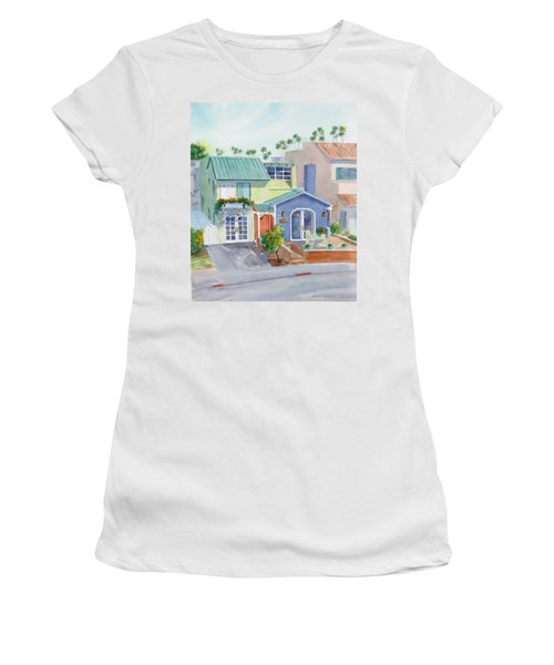 The Most Colorful Home In Belmont Shore Women's T-Shirt