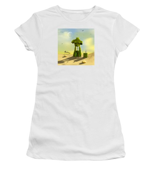 The Nightstand Women's T-Shirt (Junior Cut) by Mike McGlothlen