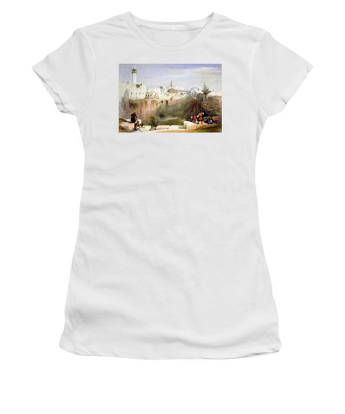 The Pool  Of Bethesda Jerusalem Women's T-Shirt