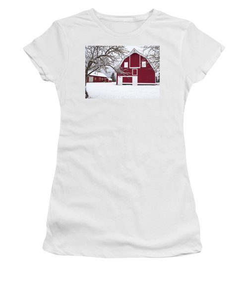 The Red Barn Women's T-Shirt