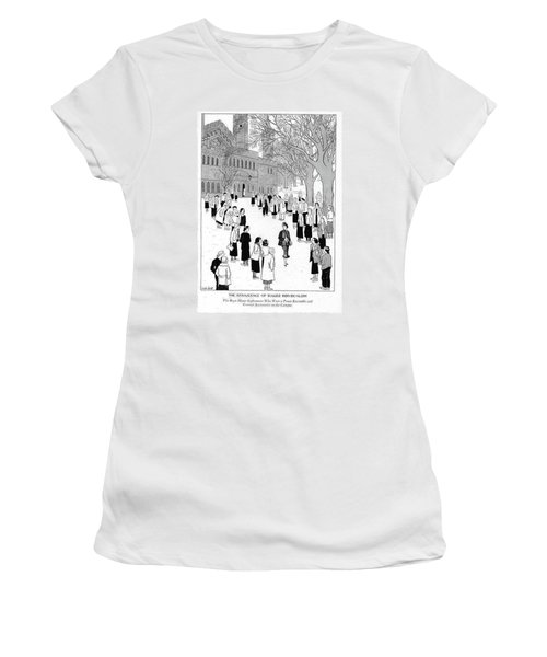 The Renascence Of Rugged Individualism  The Bryn Women's T-Shirt