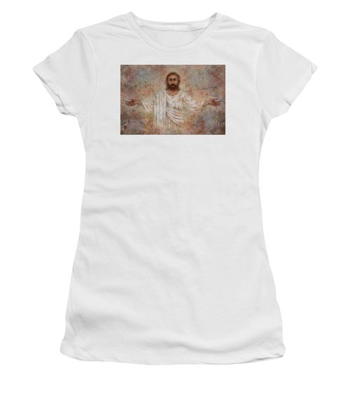 The Resurrection And The Life Women's T-Shirt (Athletic Fit)