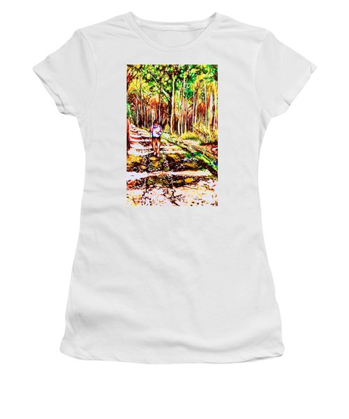 The Road Not Taken Women's T-Shirt