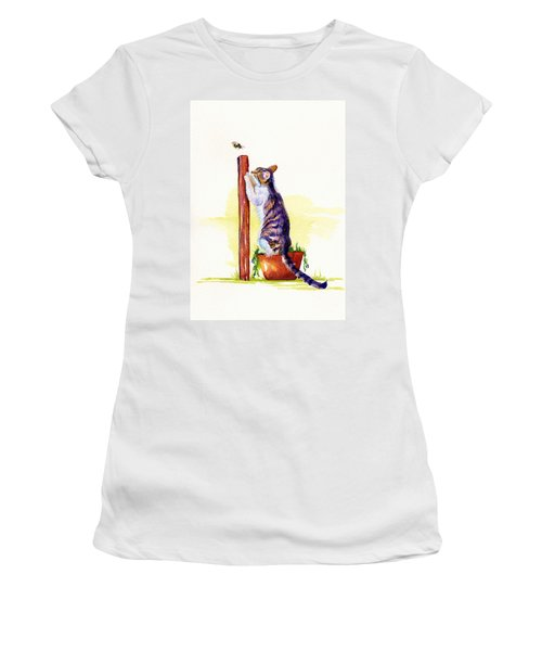 The Scratching Post Women's T-Shirt (Athletic Fit)