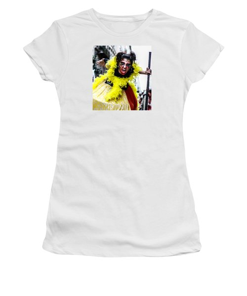 Women's T-Shirt featuring the photograph The Scream Crusher by Stwayne Keubrick
