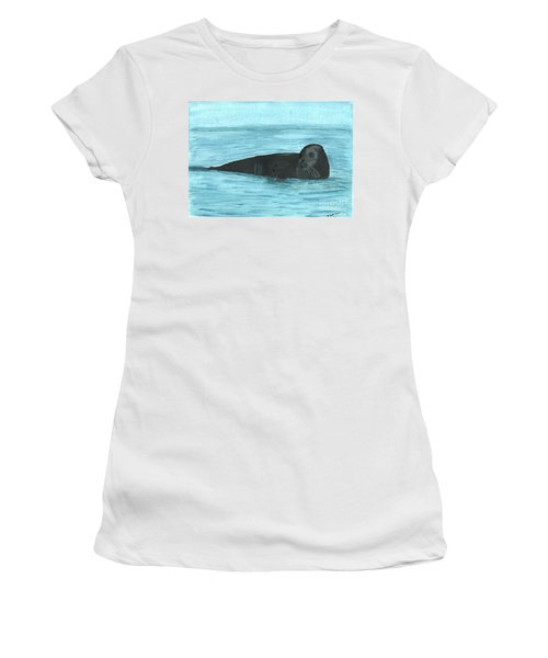 The Seal Women's T-Shirt (Athletic Fit)