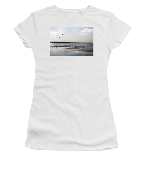 The Shallows At Whitefish Bay Women's T-Shirt
