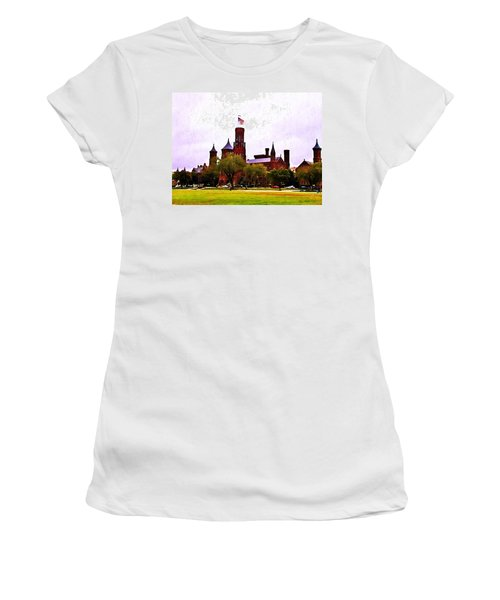 The Smithsonian Women's T-Shirt (Junior Cut) by Bill Cannon