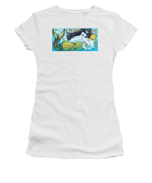 The Song Of The Mermaid Women's T-Shirt (Junior Cut)