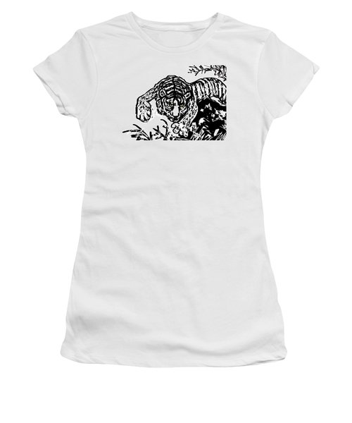 The Tiger  Women's T-Shirt