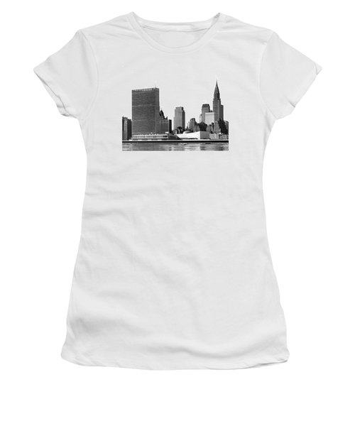 The Un And Chrysler Buildings Women's T-Shirt