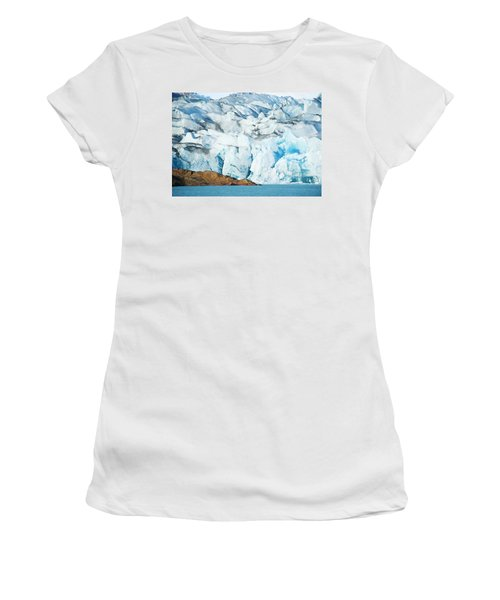 The Viedma Glacier Terminating Women's T-Shirt