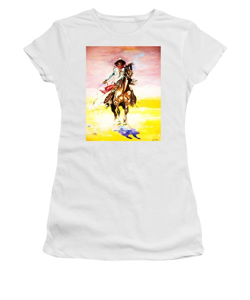 The Way Of The Vaquero Women's T-Shirt (Athletic Fit)