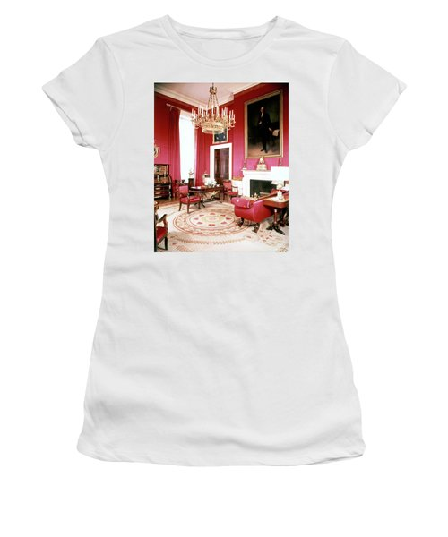 The White House Red Room Women's T-Shirt