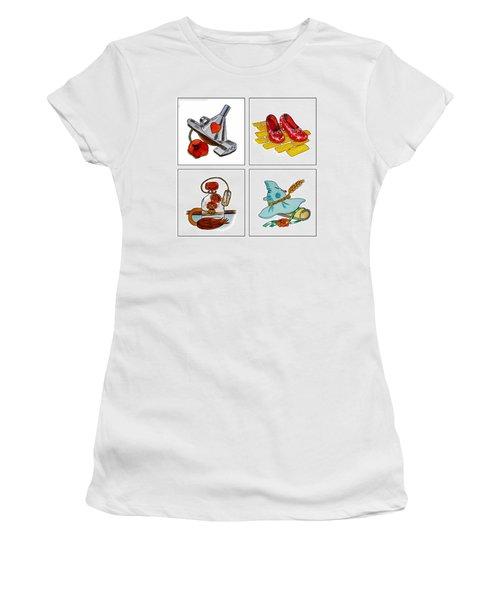 The Wonderful Wizard Of Oz Women's T-Shirt