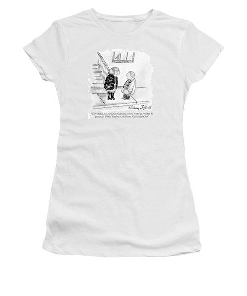 They Should Just Ask Elian Gonzalez Who He Wants Women's T-Shirt