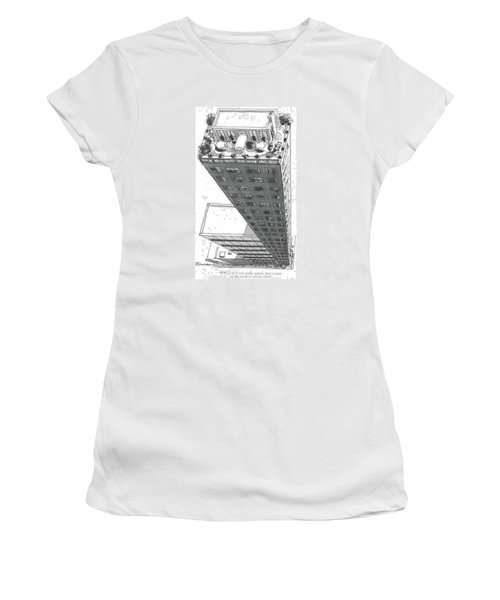 This Is All I Ever Really Wanted. Just A Corner Women's T-Shirt