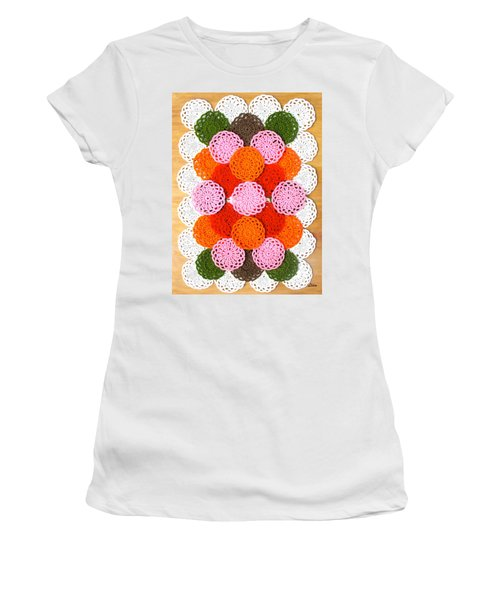 Thread On Canvas Women's T-Shirt (Athletic Fit)