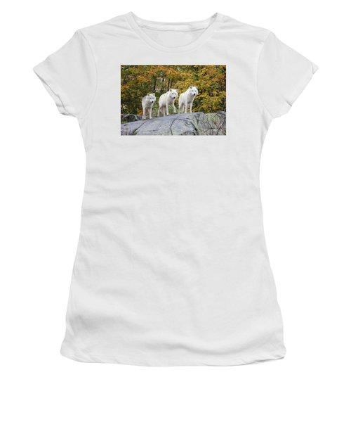 Three Of A Kind Women's T-Shirt (Athletic Fit)