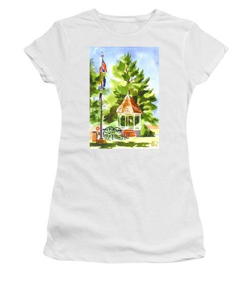 Thumbnail Moon Women's T-Shirt