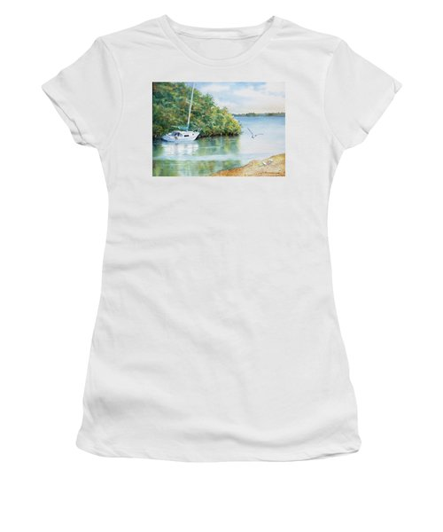 Tide's Out Women's T-Shirt (Athletic Fit)