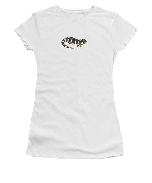 Tiger Salamander Women's T-Shirt (Junior Cut) by Cindy Hitchcock