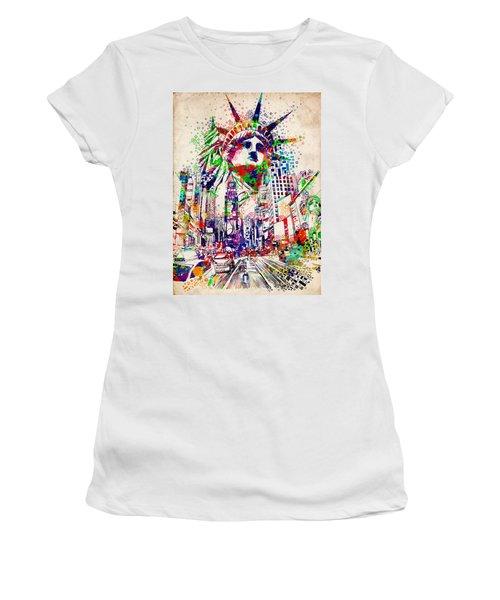 Times Square 3 Women's T-Shirt