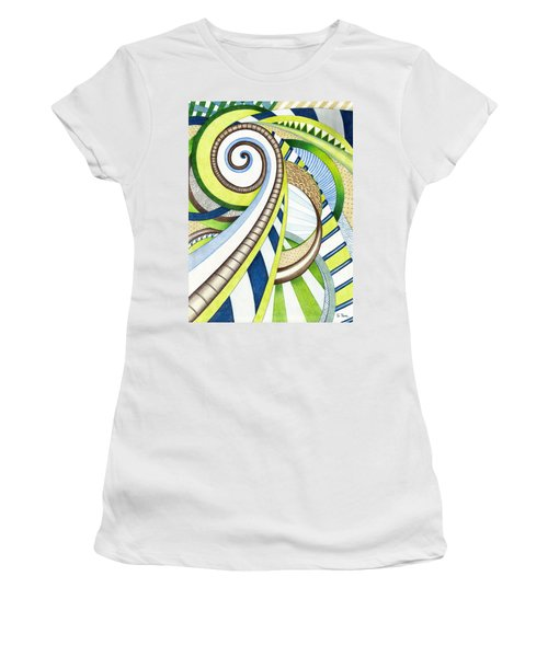 Time Travel Women's T-Shirt (Junior Cut) by Shawna Rowe