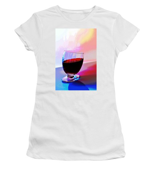 Tipsy Women's T-Shirt (Junior Cut) by Ludwig Keck