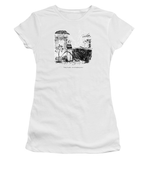 Today I'm Fifty - The Old Halfway Point Women's T-Shirt