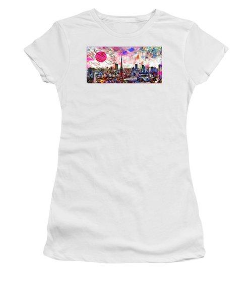 Tokyo Metropolis Women's T-Shirt (Athletic Fit)