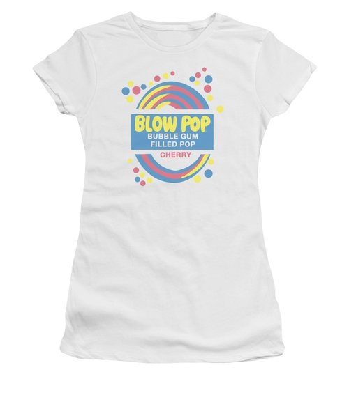 Tootsie Roll - Blow Pop Label Women's T-Shirt