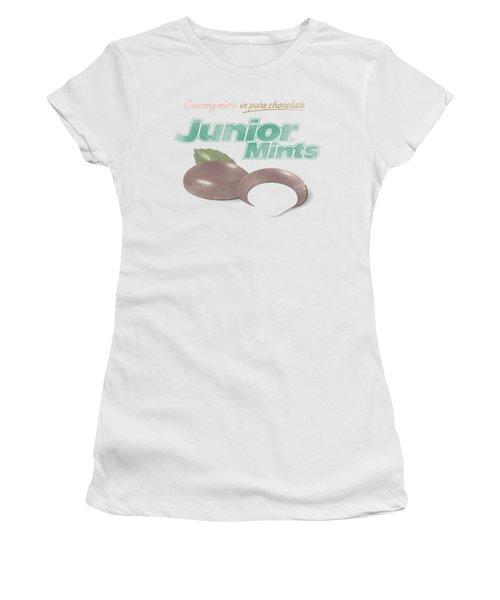 Tootsie Roll - Junior Mints Logo Women's T-Shirt