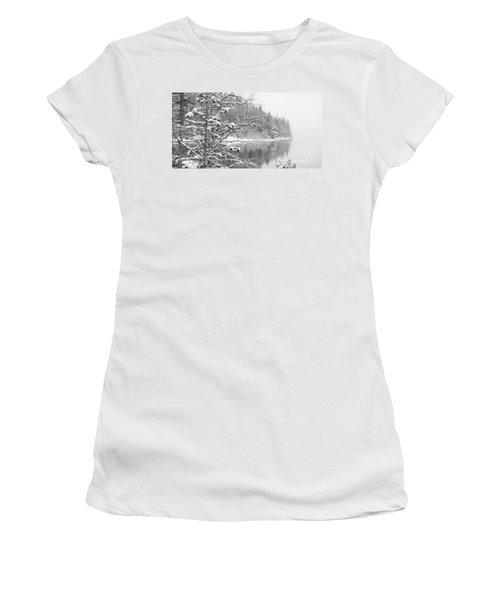 Touch Of Winter Women's T-Shirt