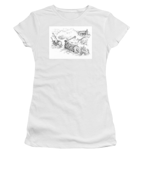 Trail Divides Women's T-Shirt (Athletic Fit)