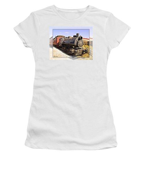 Train Women's T-Shirt (Athletic Fit)