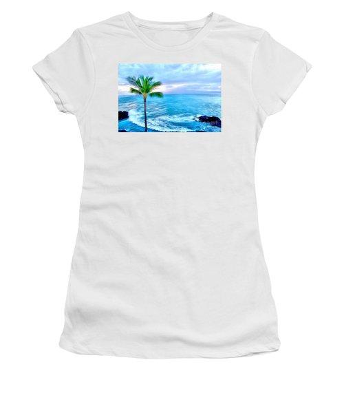 Tranquil Escape Women's T-Shirt (Athletic Fit)