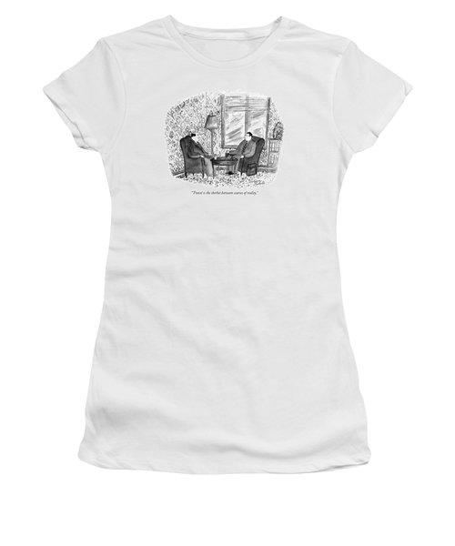 Travel Is The Sherbet Between Courses Of Reality Women's T-Shirt