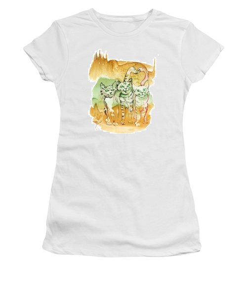 Tree Brothers  Women's T-Shirt (Athletic Fit)